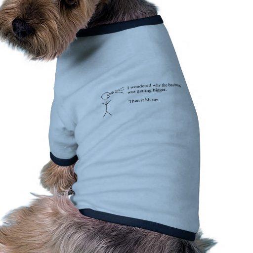 Calembour drôle manteaux pour chien