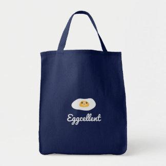 Calembour humoristique de nourriture d'Eggcellent Tote Bag