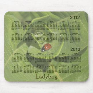 Calendrier 2012-2013 de coccinelle Mousepad Tapis De Souris