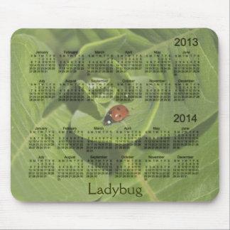 Calendrier 2013-2014 de coccinelle Mousepad Tapis De Souris