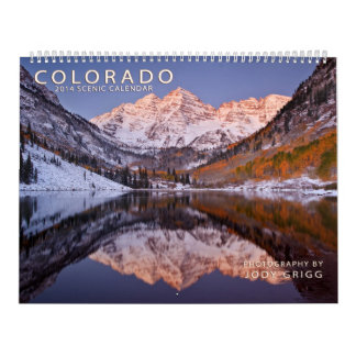 Calendrier 2014 pittoresque du Colorado