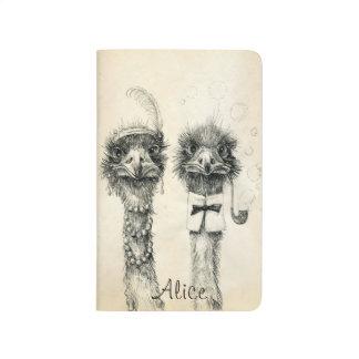 Calendrier 2015 de M. et de Mme Ostrich 2014 Carnet De Poche