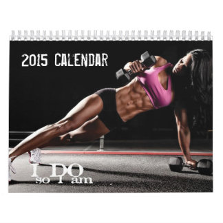 Calendrier 2015 de motivation de forme physique