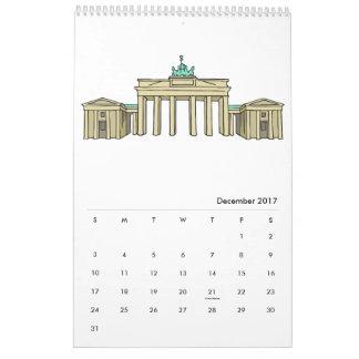 Calendrier 2017 de Berlin