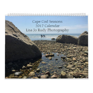 Calendrier 2017 de photo de saisons de Cape Cod