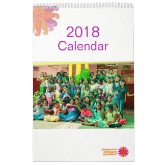 Calendrier 2018 de crinière de Baale