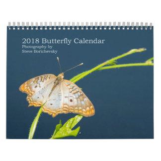 Calendrier 2018 de papillon