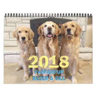 Calendrier 2018 de ParkerPup