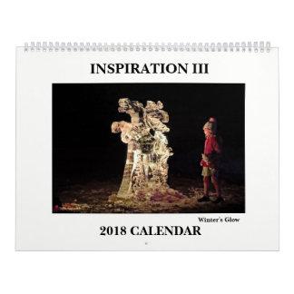 Calendrier 2018 de photographie