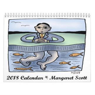 Calendrier 2018 par Margaret Scott