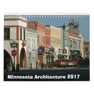 Calendrier architectural du Minnesota - 2017