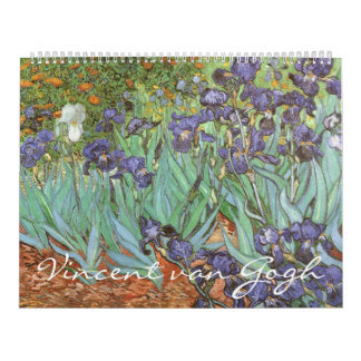 Calendrier Art vintage de post impressionnisme par Vincent