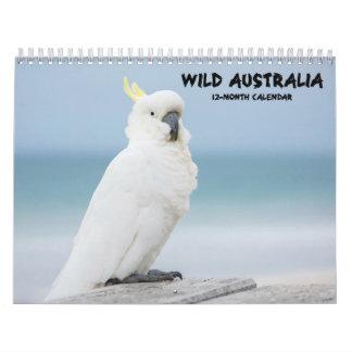 """Calendrier australien de faune """"de l'Australie"""