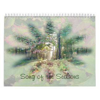 Calendrier - chanson des saisons