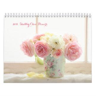 calendrier chic minable de 2018 fleurs