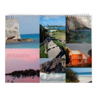 Calendrier de 12 mois des Bermudes