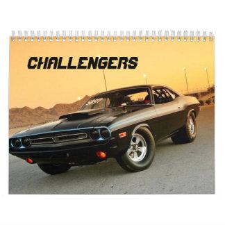 CALENDRIER DE CHALLENGEURS