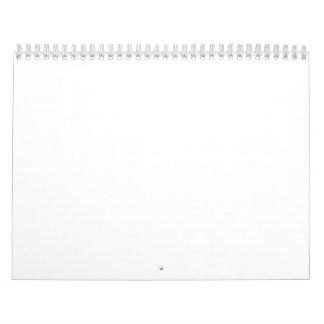 """Calendrier de deux pages, norme, 11"""" x17 """""""