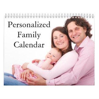 Calendrier de famille personnalisé par 2017
