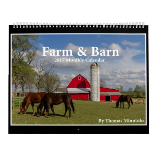 Calendrier de ferme et de grange 2017 par Tom