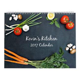Calendrier de la cuisine 2017 de Kevin