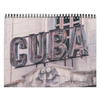 Calendrier de La Havane, Cuba 2017