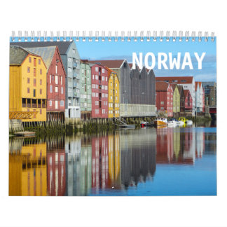 Calendrier de la Norvège 2018