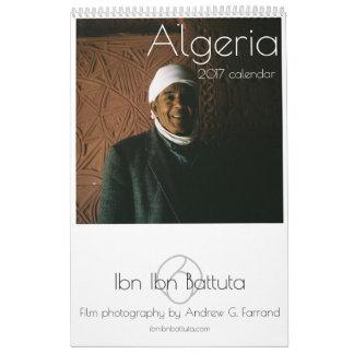 Calendrier de l'ALGÉRIE 2017 par Ibn Ibn Battuta