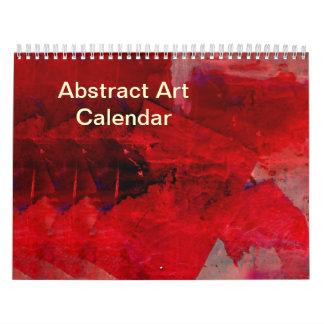 Calendrier de l'art 2018 abstrait