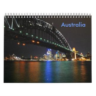 Calendrier de l'Australie