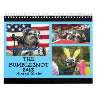 Calendrier de mémorial de Bumblesnot 2018