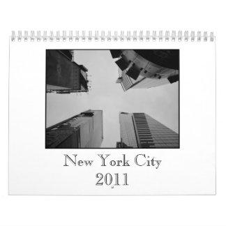 Calendrier de New York City 2011