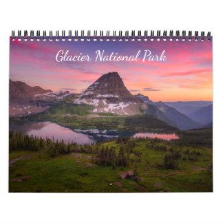Calendrier de parc national de glacier