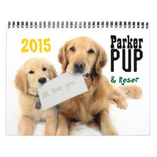 Calendrier de ParkerPup et de Reser 2015