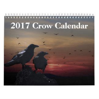 Calendrier de Raven de 2017 corneilles