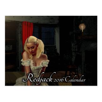 Calendrier de Redjack 2016 - dactylographiez A Cartes Postales