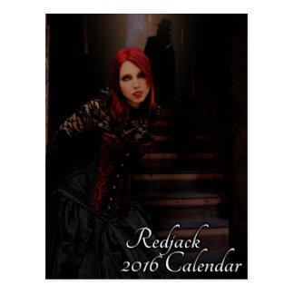 Calendrier de Redjack 2016 - dactylographiez B Carte Postale