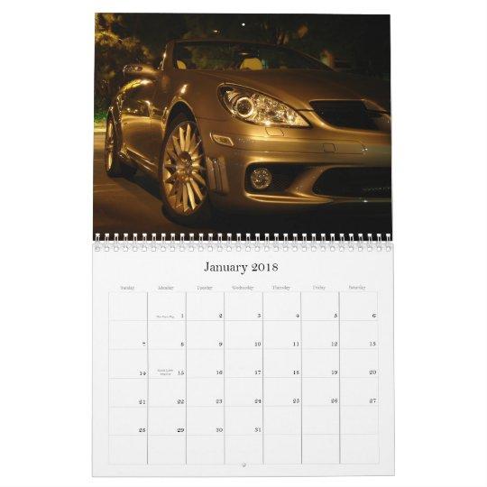 Calendrier du benz SLK 2010 de Mercedes