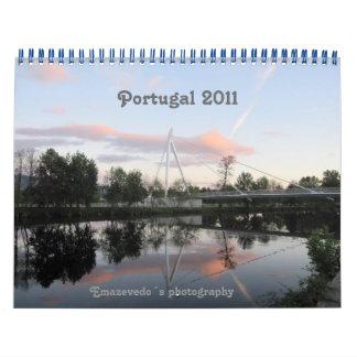 Calendrier du Portugal 2011