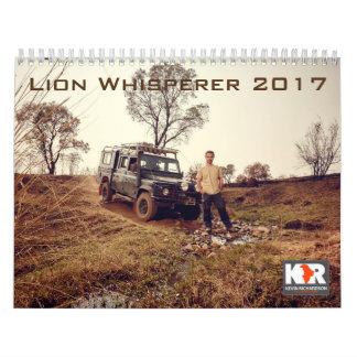 Calendrier du Whisperer 2017 de lion