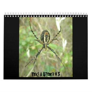 Calendrier - EEK ! Une araignée #3