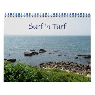Calendrier - gazon de n de surf '