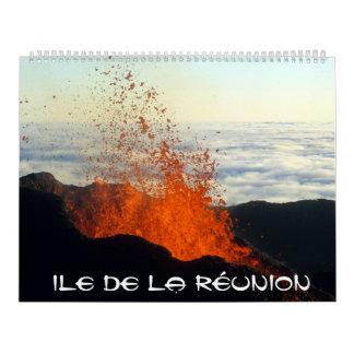 Calendrier Ile de la Réunion