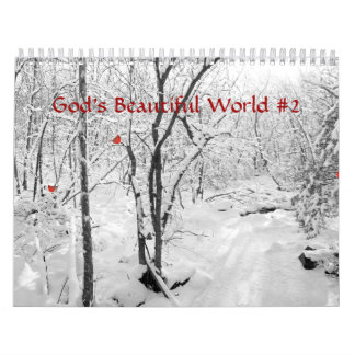 Calendrier - le beau monde #2 de Dieu