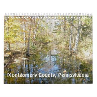 Calendrier - le comté de Montgomery Pennsylvanie