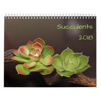 Calendrier Les Succulents classent 2018