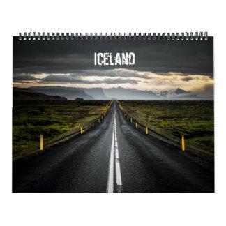 Calendrier L'Islande