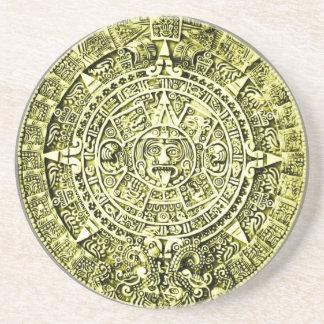 calendrier maya dessous de verre