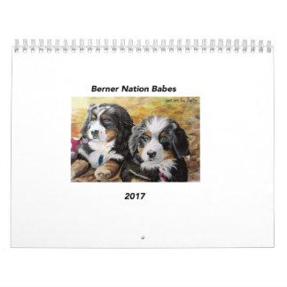 Calendrier moyen des bébés 2017 de nation de