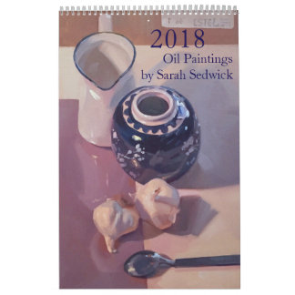 Calendrier Mural 2018 : Peintures par Sarah Sedwick